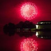 Fireworks over Cornell Boat House IMG_6442