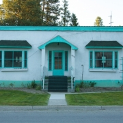 Blue Trimmed House, Montana IMG_8483
