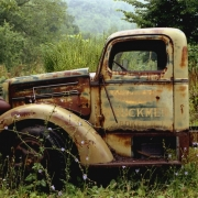 Old Truck, Mount Ross, NY Color