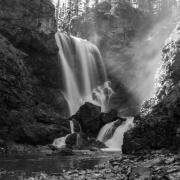 Dawn Mist Falls , MT 3296