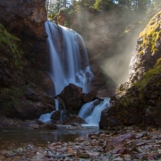 Dawn Mist Falls, Glacier MT 3297